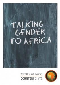 Africa, gender, Henrietta Miers, jargon, women